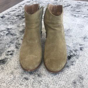 Urban Outfitters Taupe Tan Booties -8